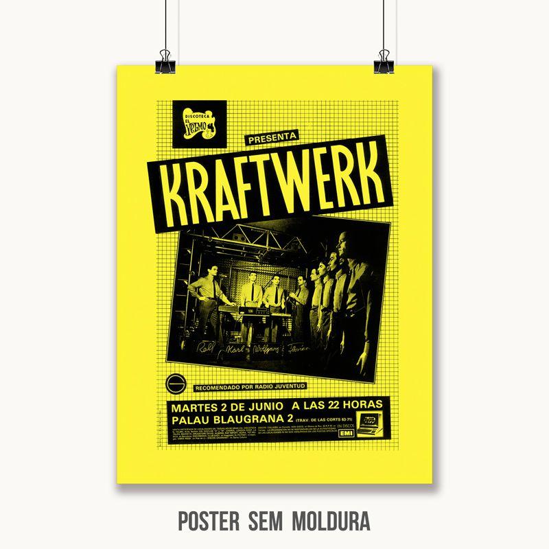 Poster/Quadro Kraftwerk