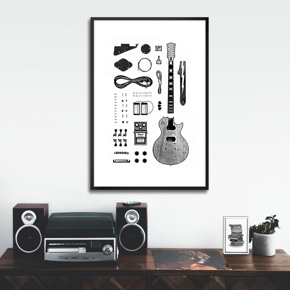 Poster/Quadro Les Paul
