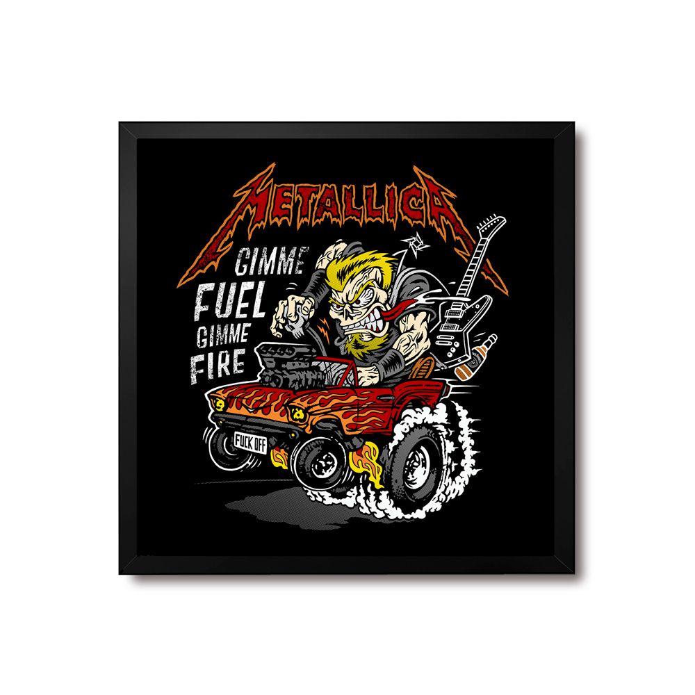 Poster/Quadro Metallica