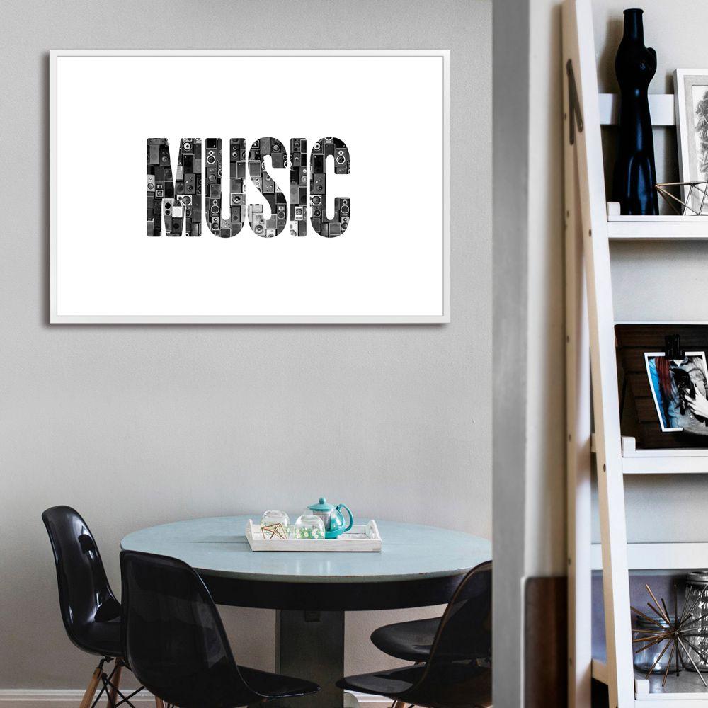 Poster/Quadro Music