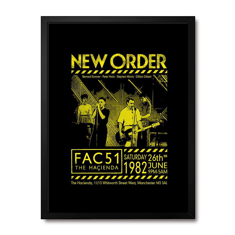 Poster/Quadro New Order