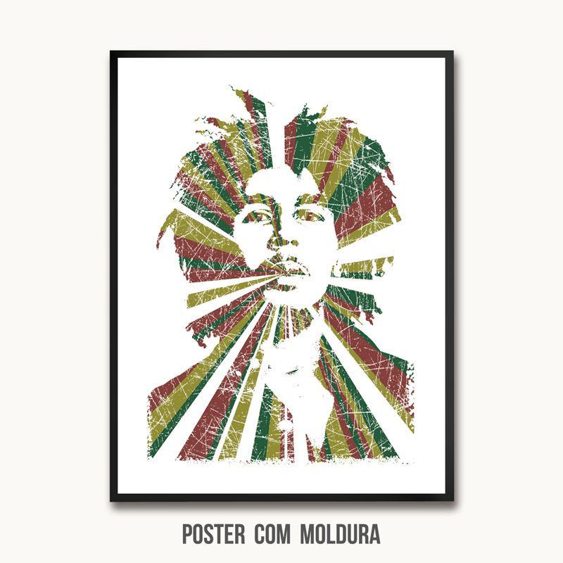 Poster/Quadro Rastaman