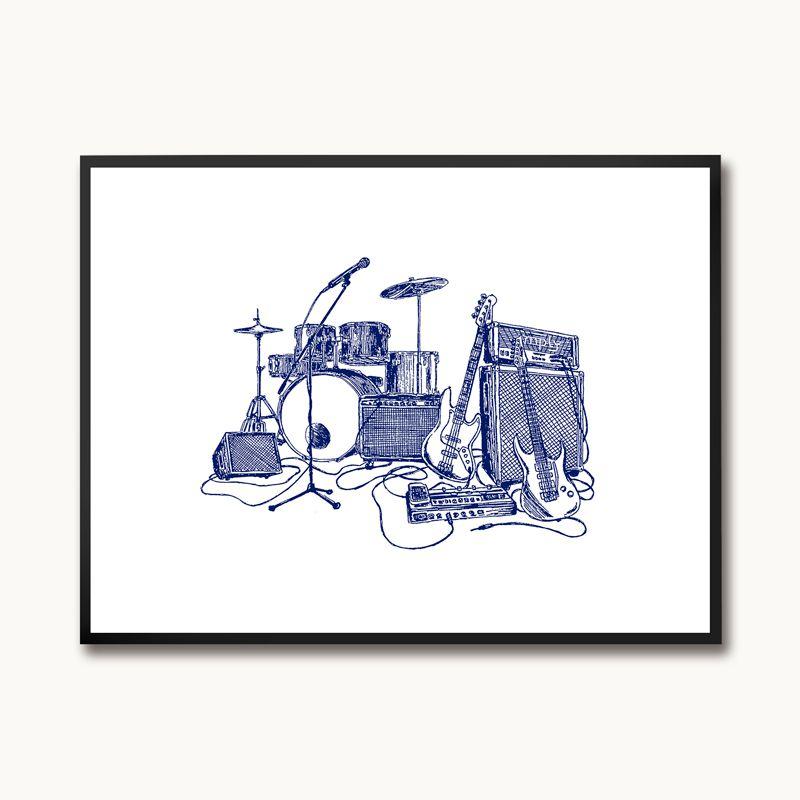 Poster/Quadro Rock Bic