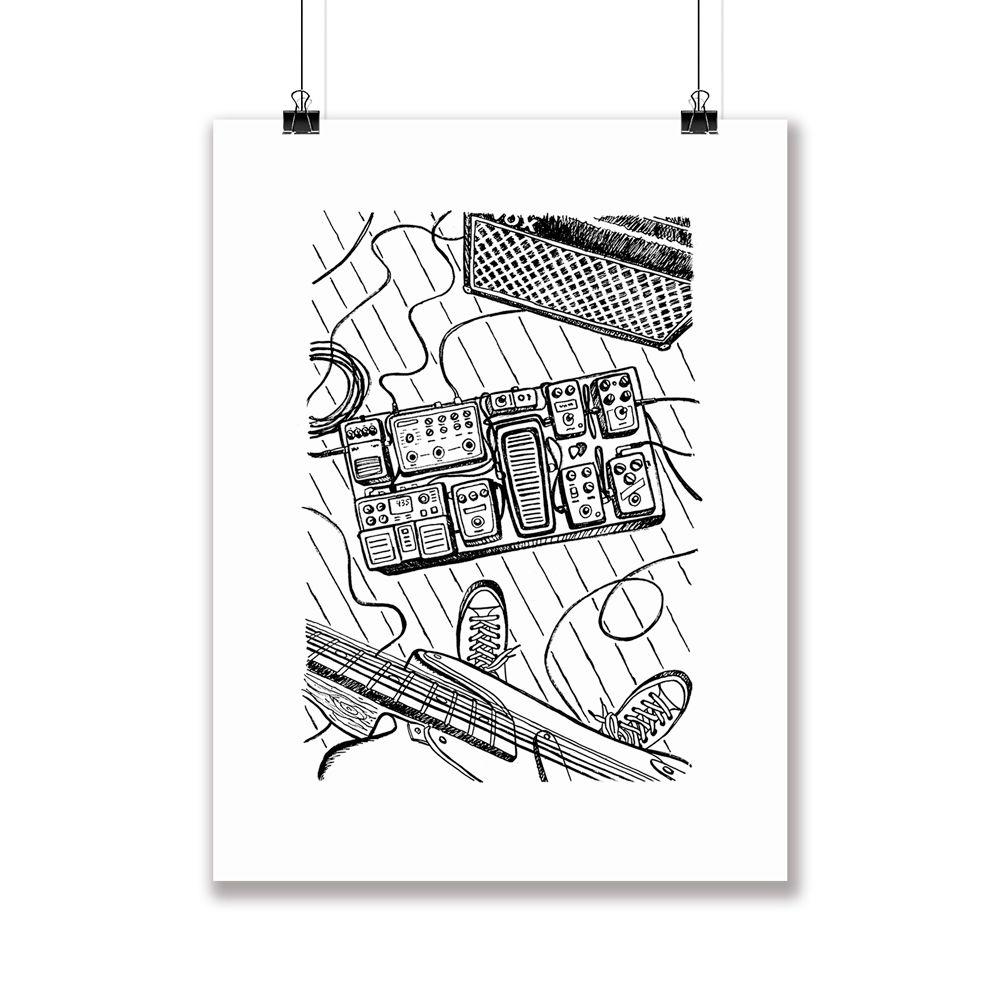 Poster/Quadro Rock Studio