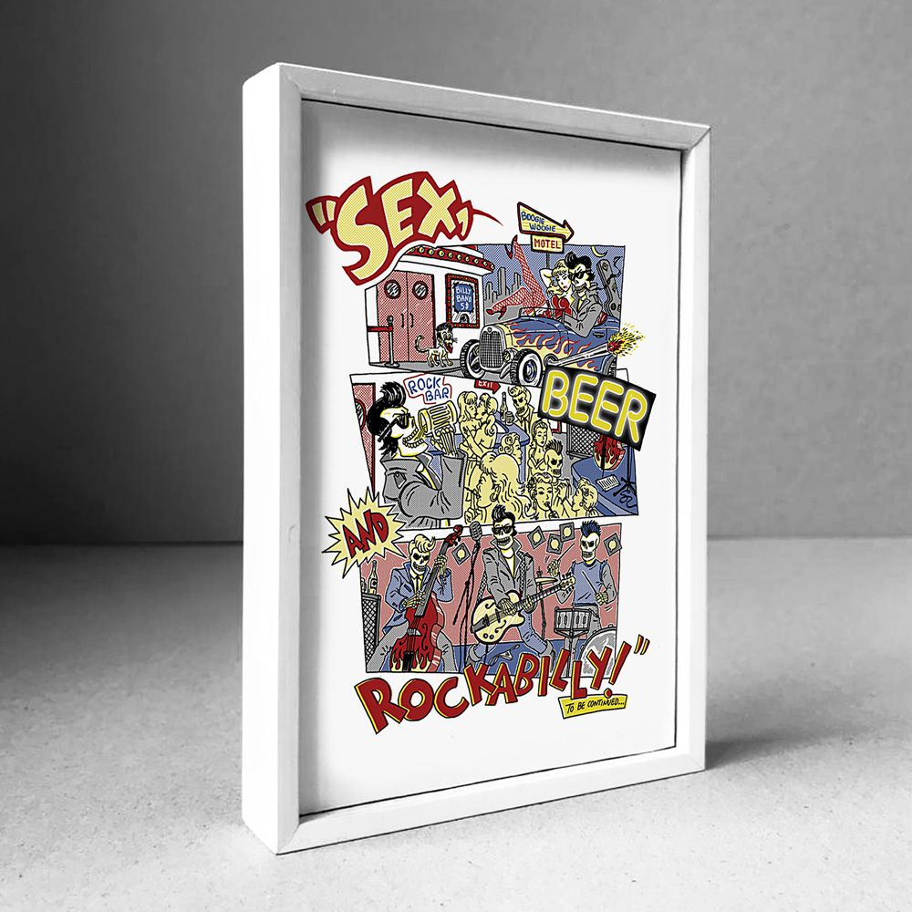 Poster/Quadro Rockabilly