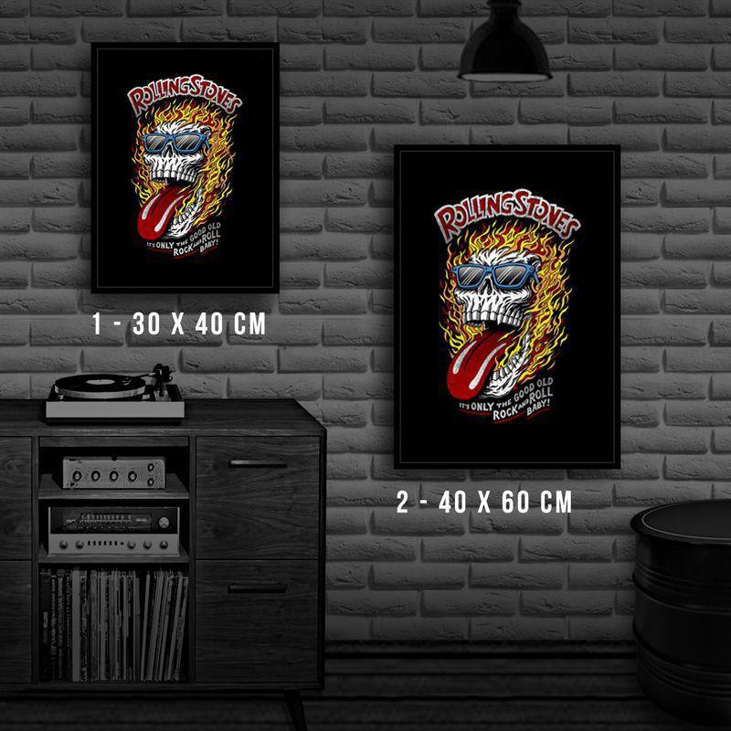 Poster/Quadro Rolling Stones