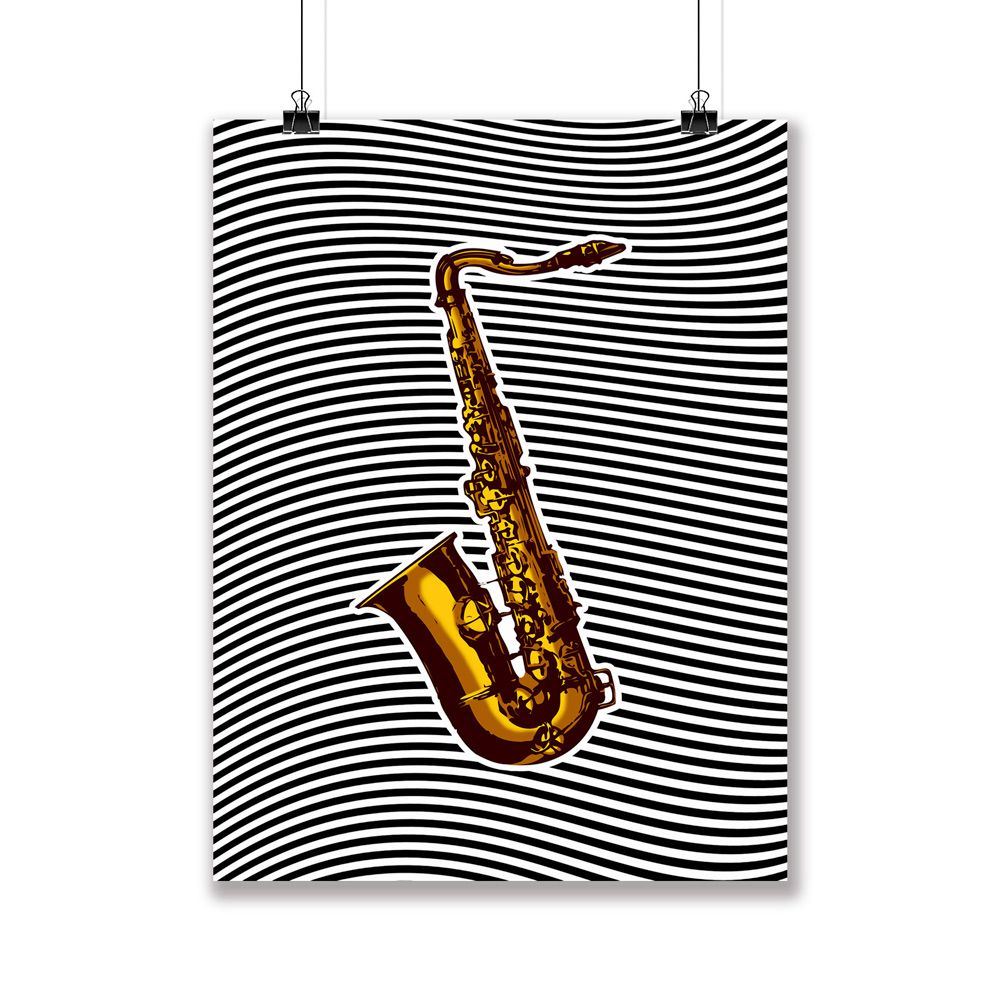 Poster/Quadro Sax