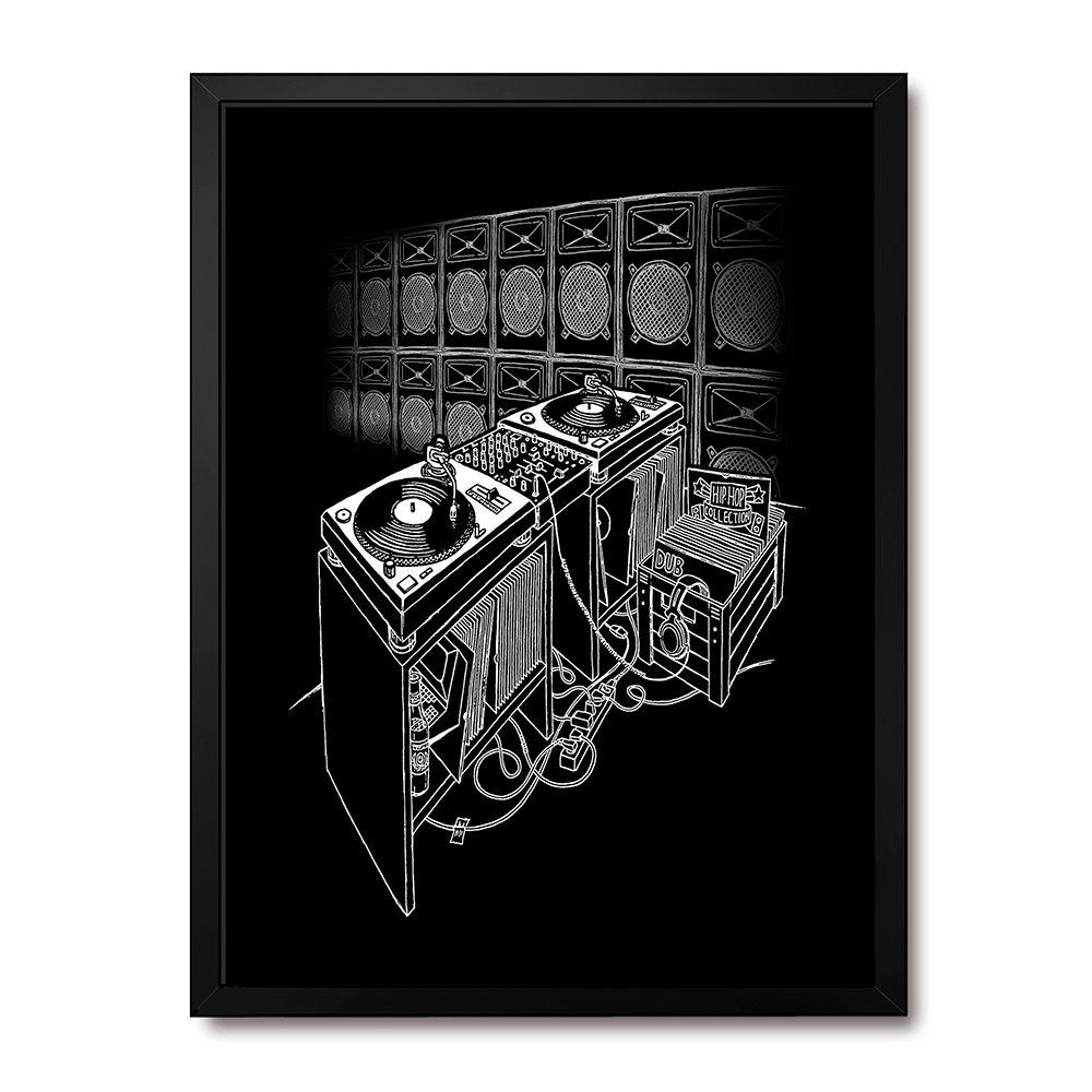 Poster/Quadro Sound System