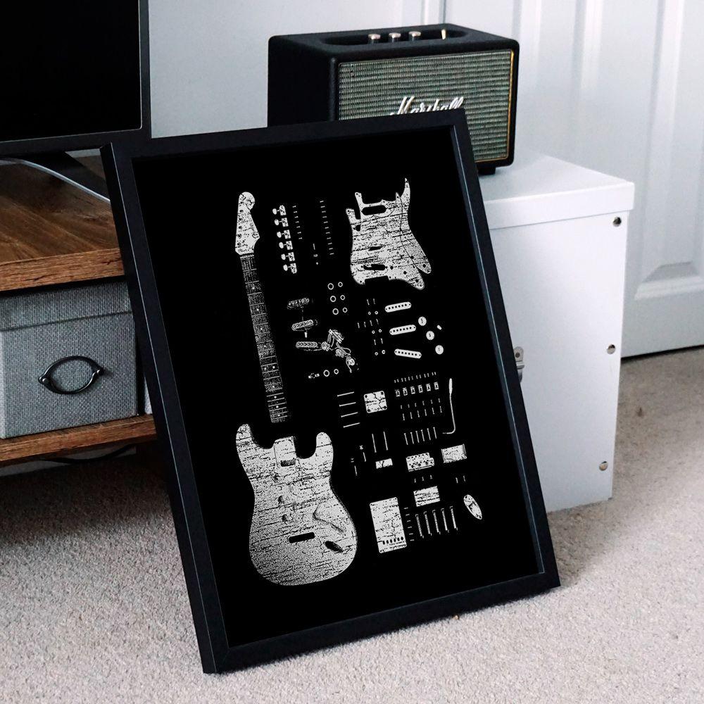Poster/Quadro Stratocaster 56