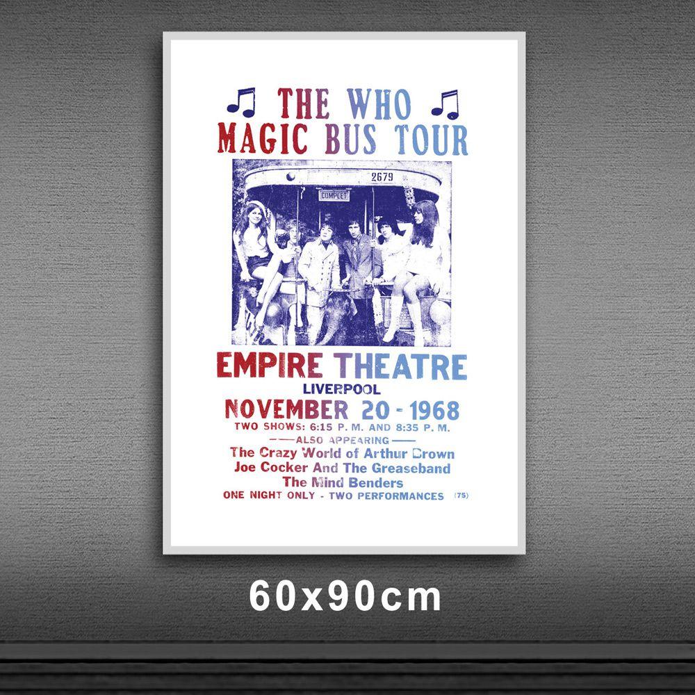Poster/Quadro The Who - Magic Bus