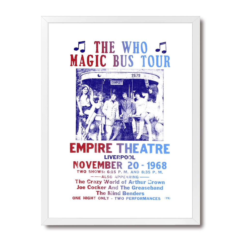 Poster/Quadro The Who - Magic Bus