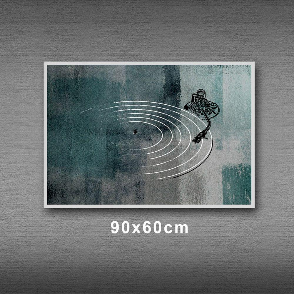 Poster/Quadro Toca Discos