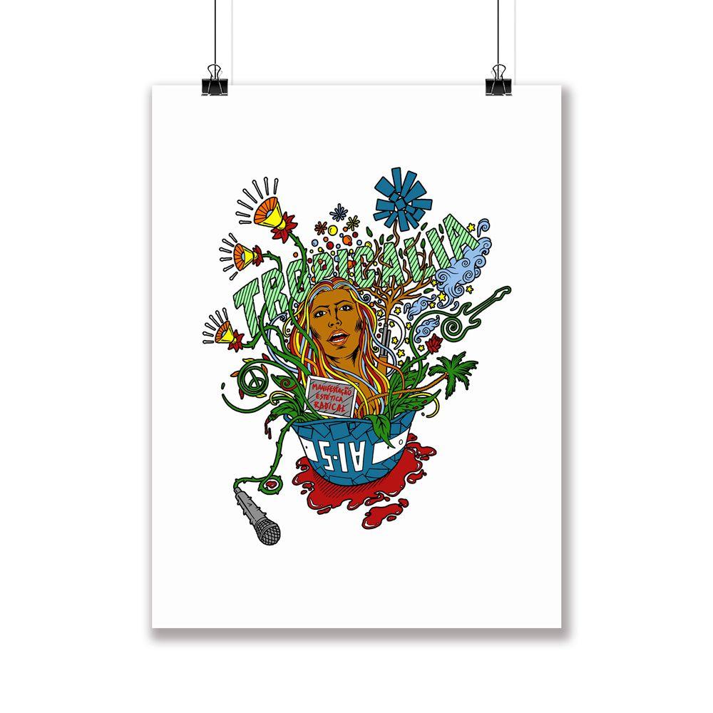 Poster/Quadro Tropicalia