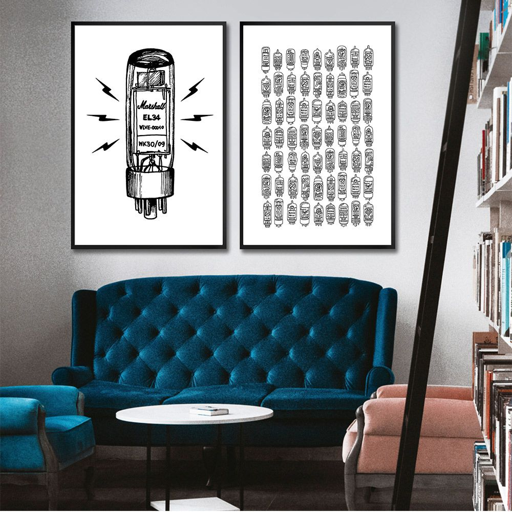 Poster/Quadro Válvulas