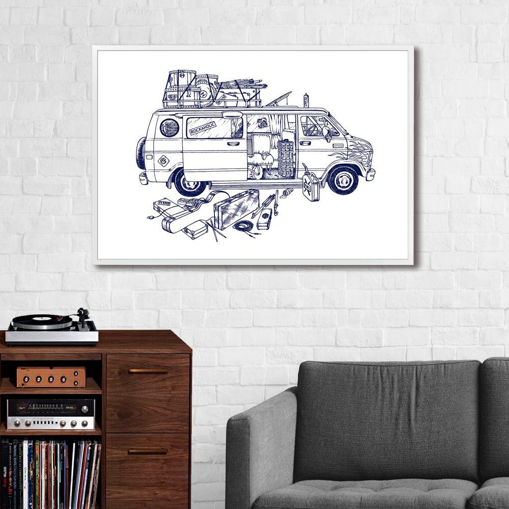 Poster/Quadro Van 80s