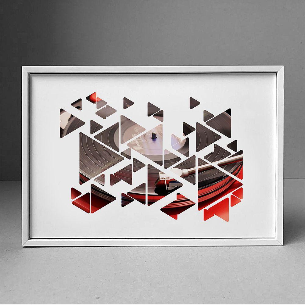 Poster/Quadro Vinyl Play
