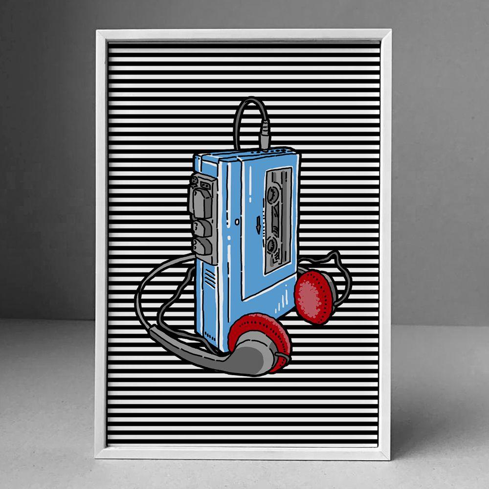 Poster/Quadro Walkman