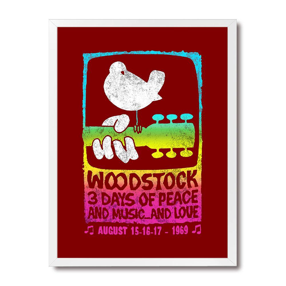 Poster/Quadro Woodstock Original