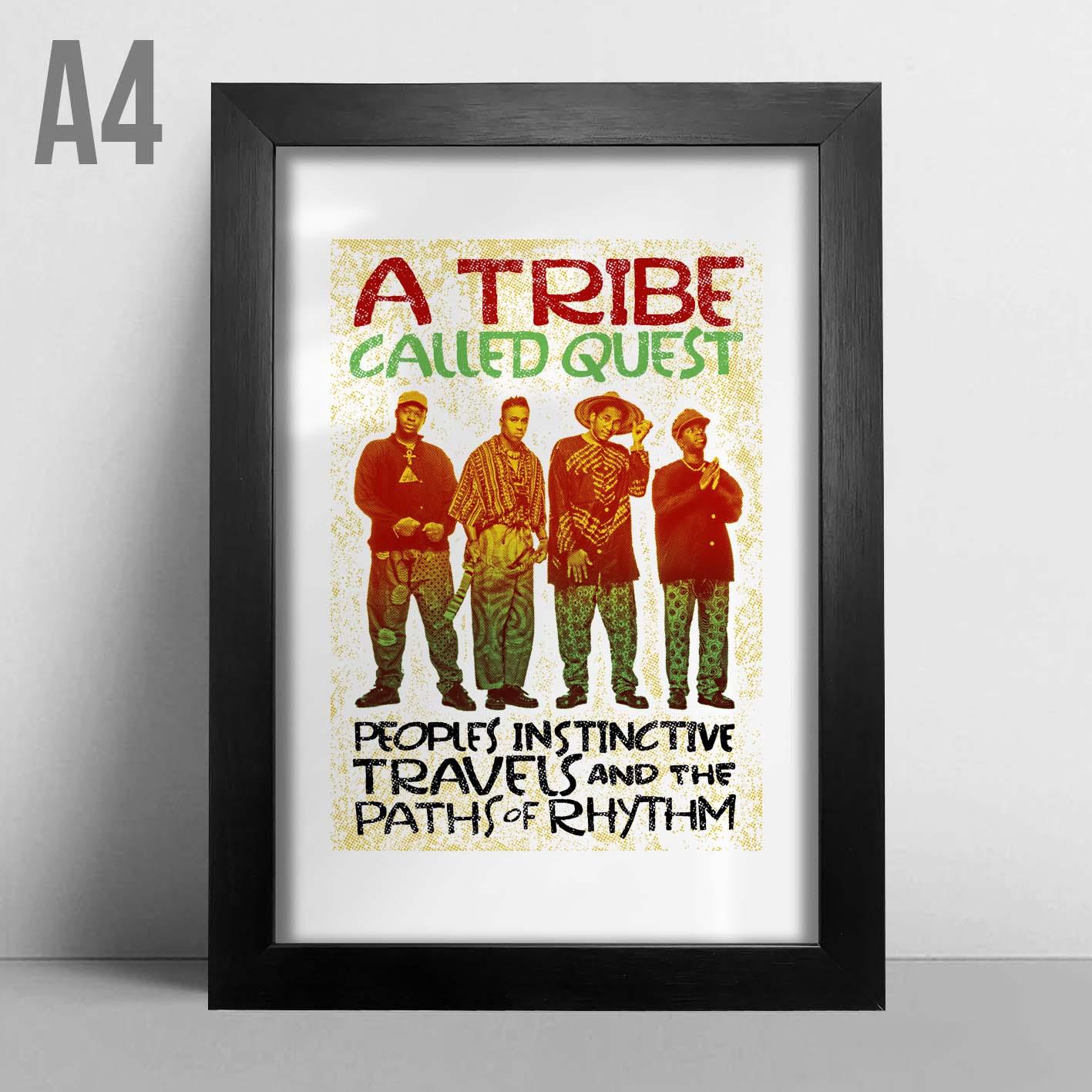 Quadro A4 - A Tribe Called Quest