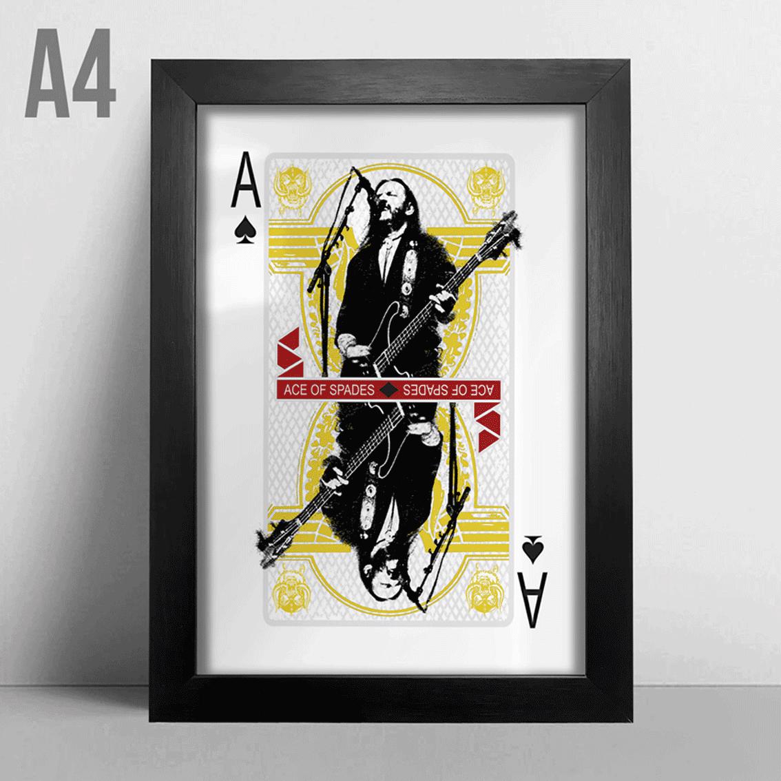 Quadro A4 - Ace of Spades