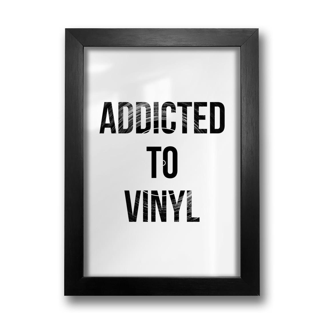 Quadro Addicted to Vinyl
