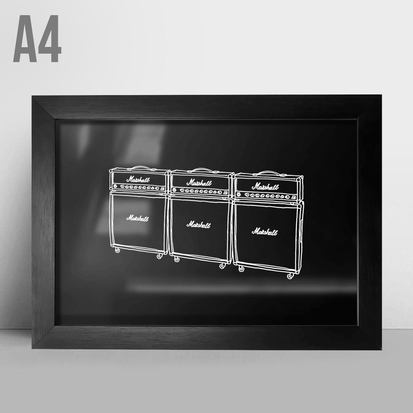 Quadro A4 - Amplificadores