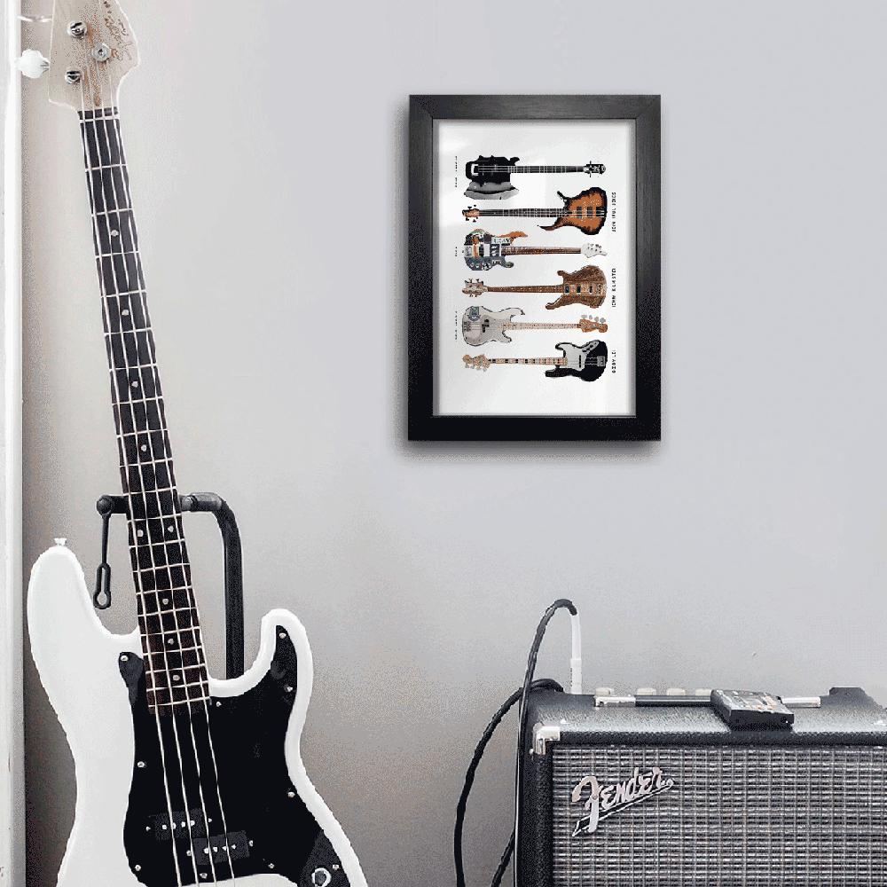 Quadro A4 - Bass Instruments