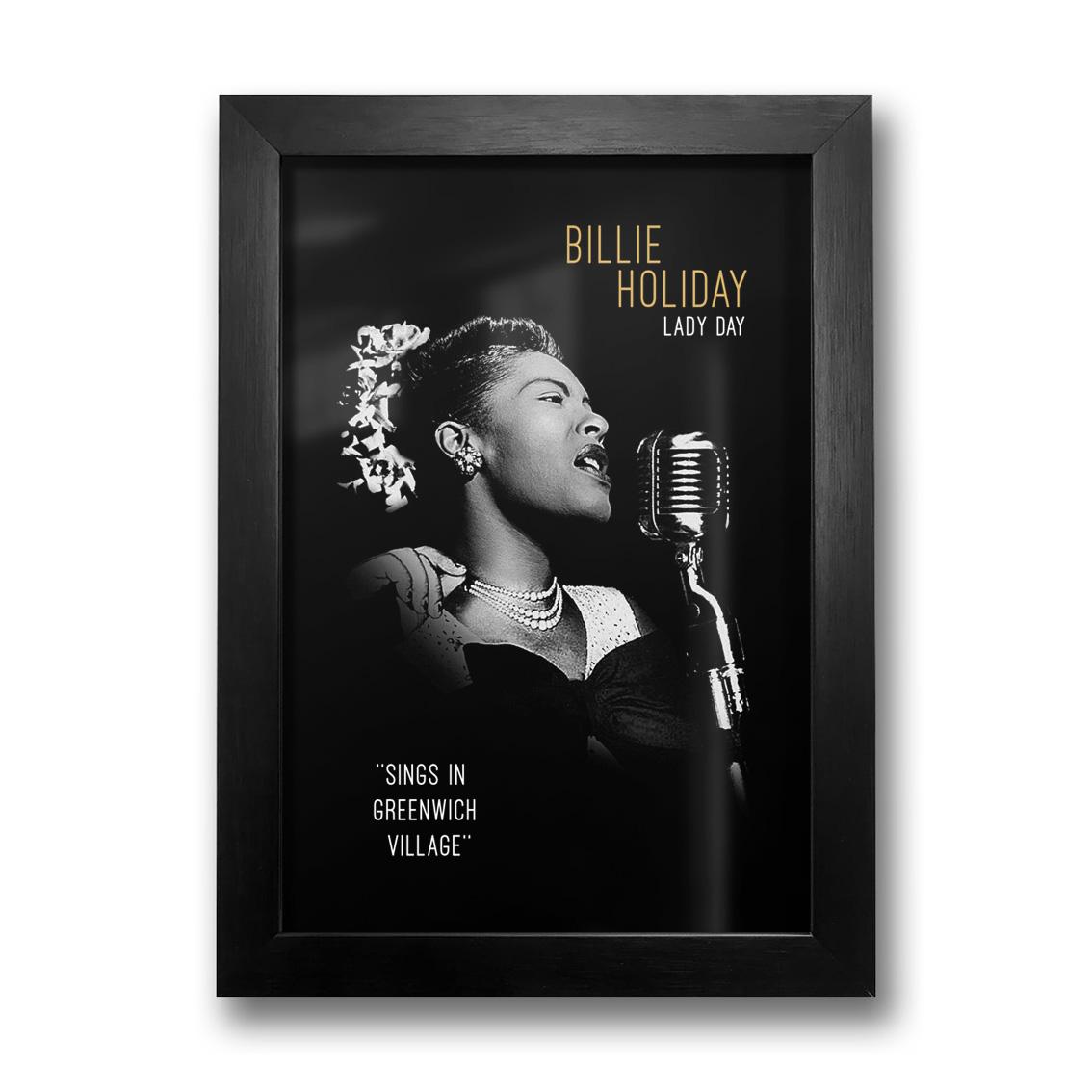 Quadro Billie Holiday