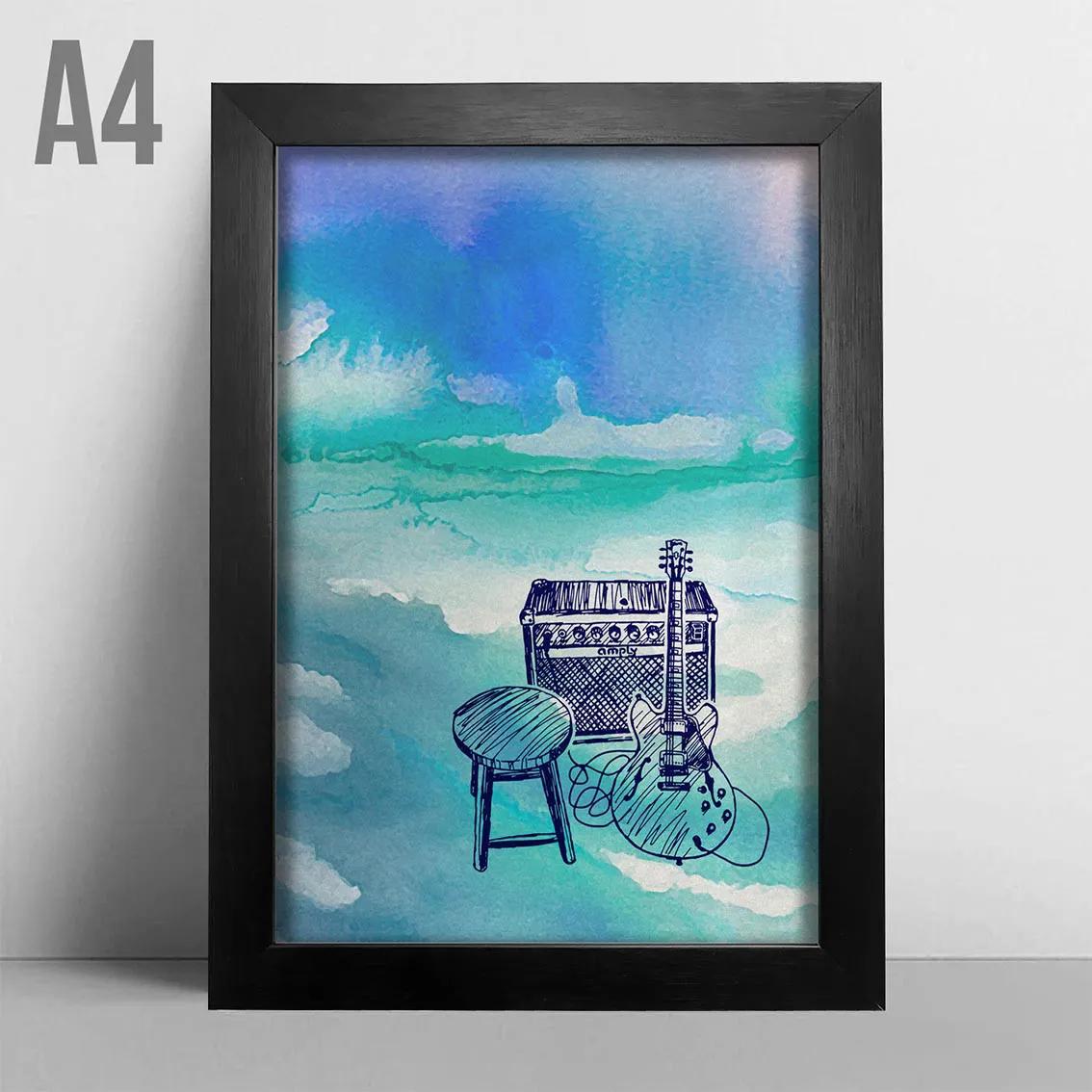 Quadro A4 - Blues