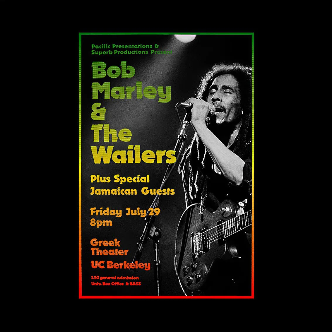 Quadro A4 - Bob & Wailers