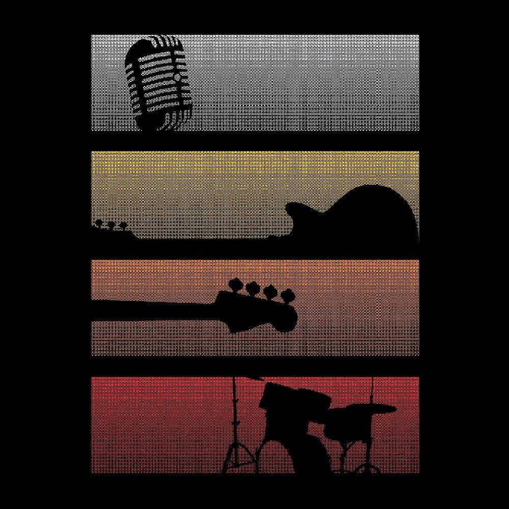 Quadro A4 - Classic Rock