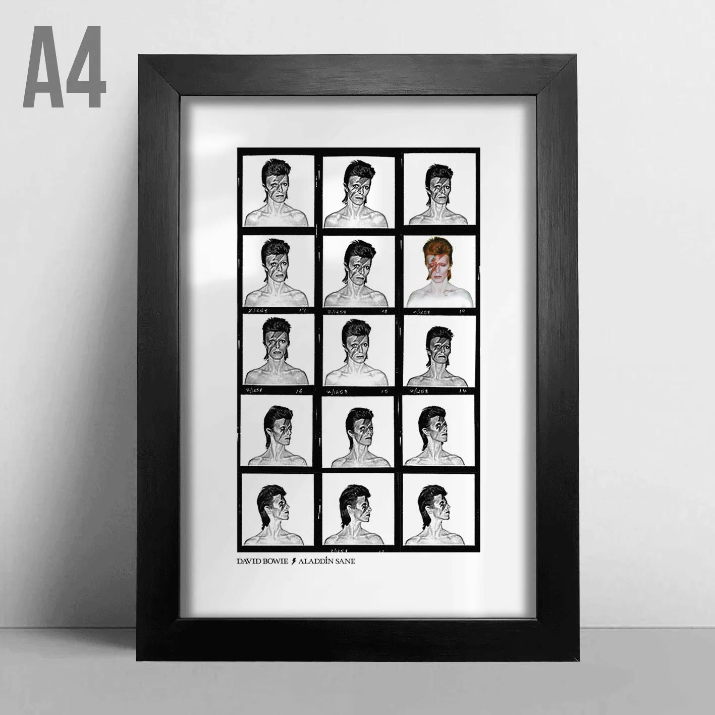 Quadro A4 - David Bowie
