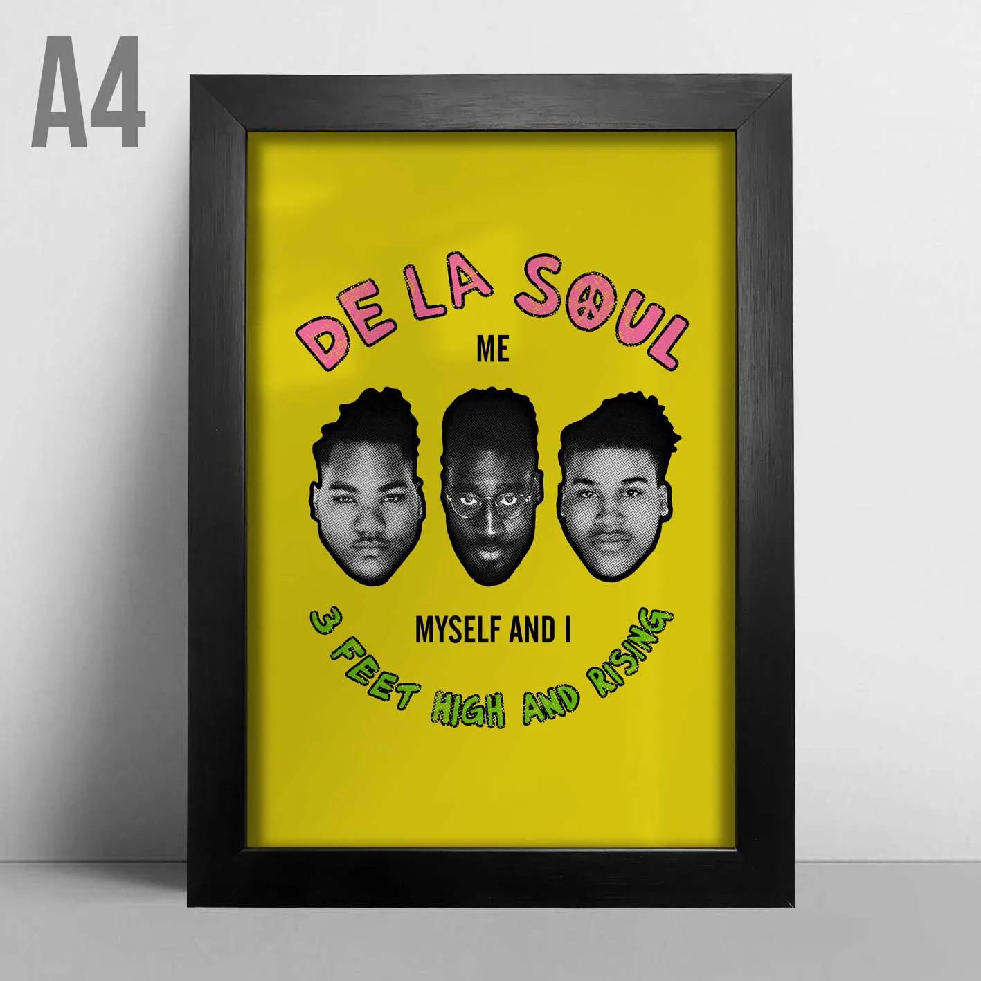 Quadro A4 - De La Soul