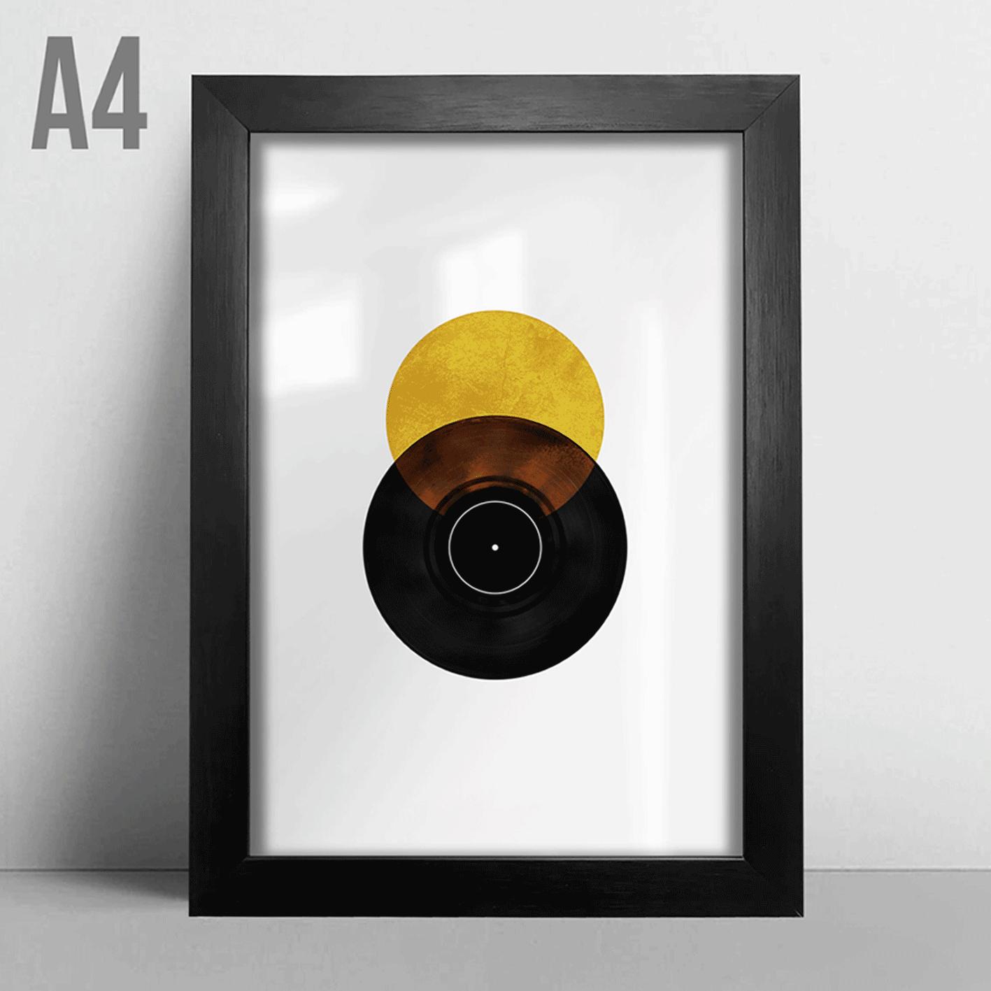 Quadro A4 - Disco