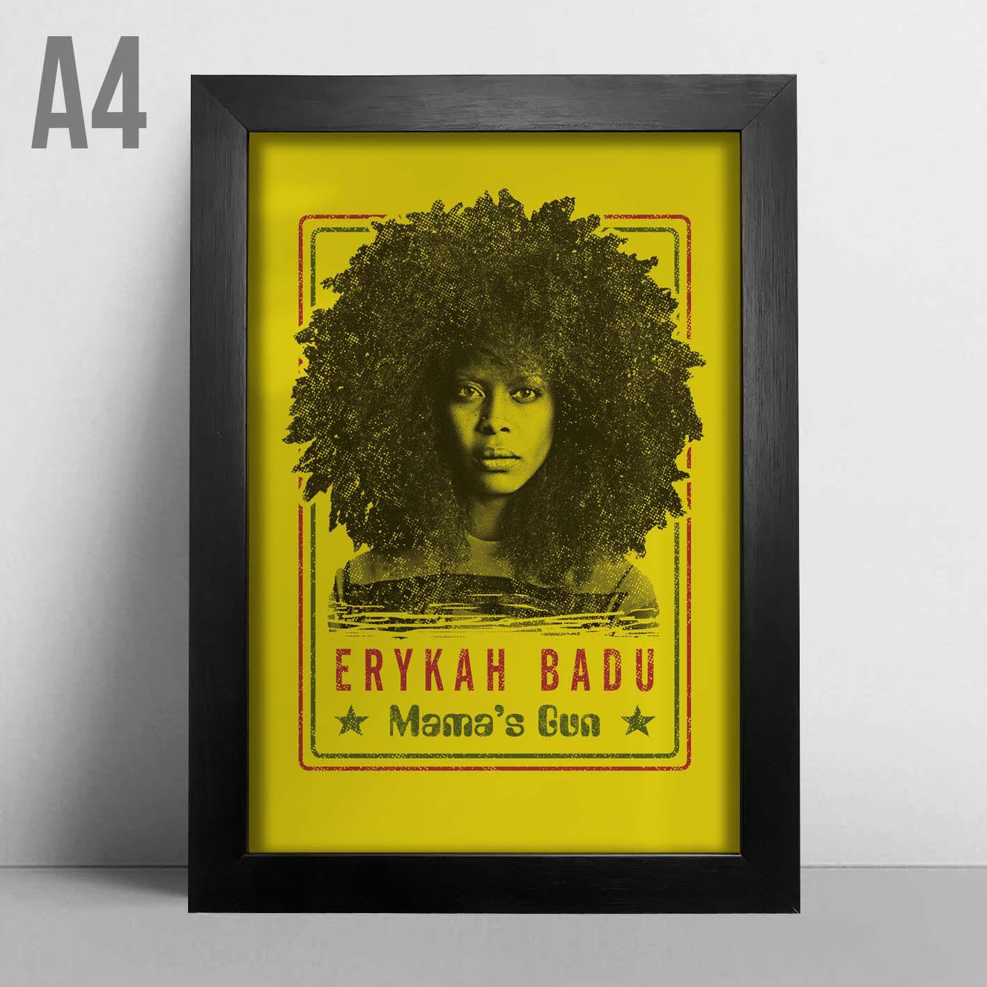Quadro A4 - Erykah Badu