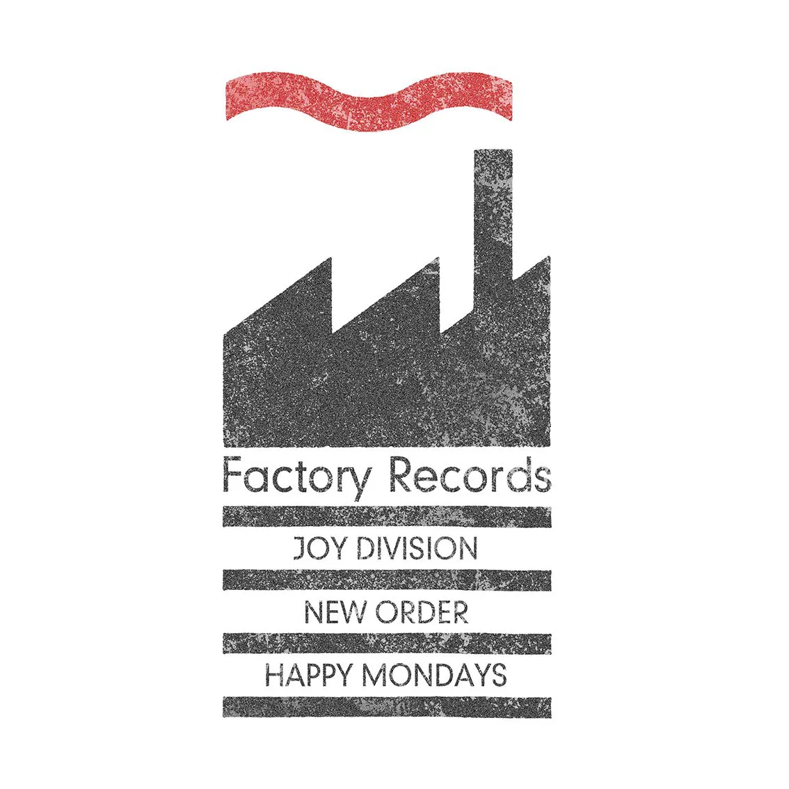 Quadro A4 - Factory Records