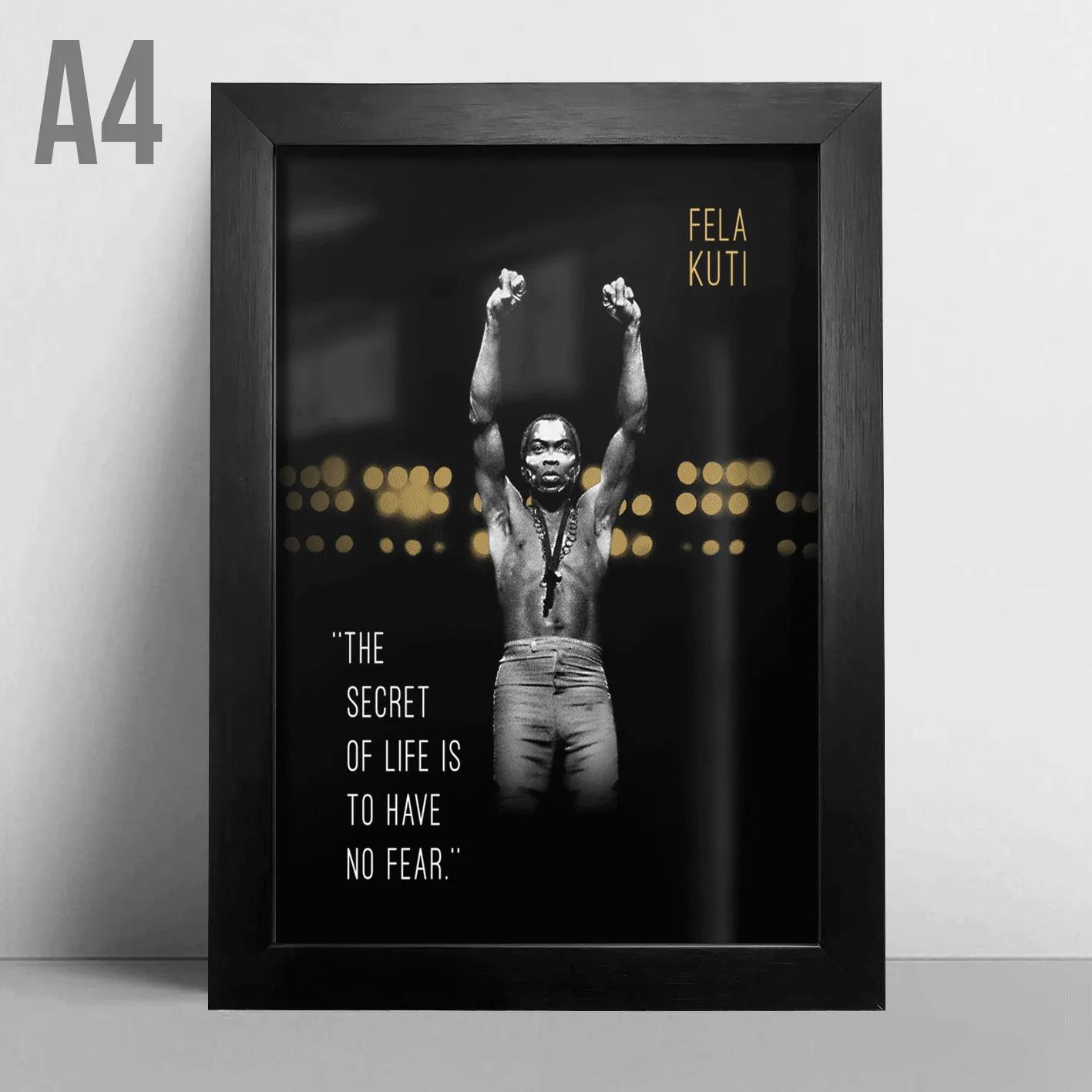 Quadro A4 - Fela Kuti