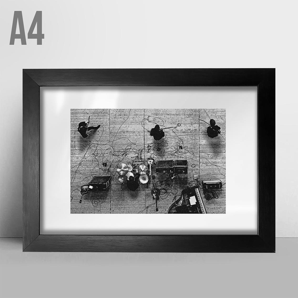 Quadro A4 - Foto Rock
