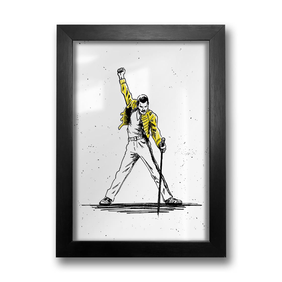 Quadro Freddie Mercury