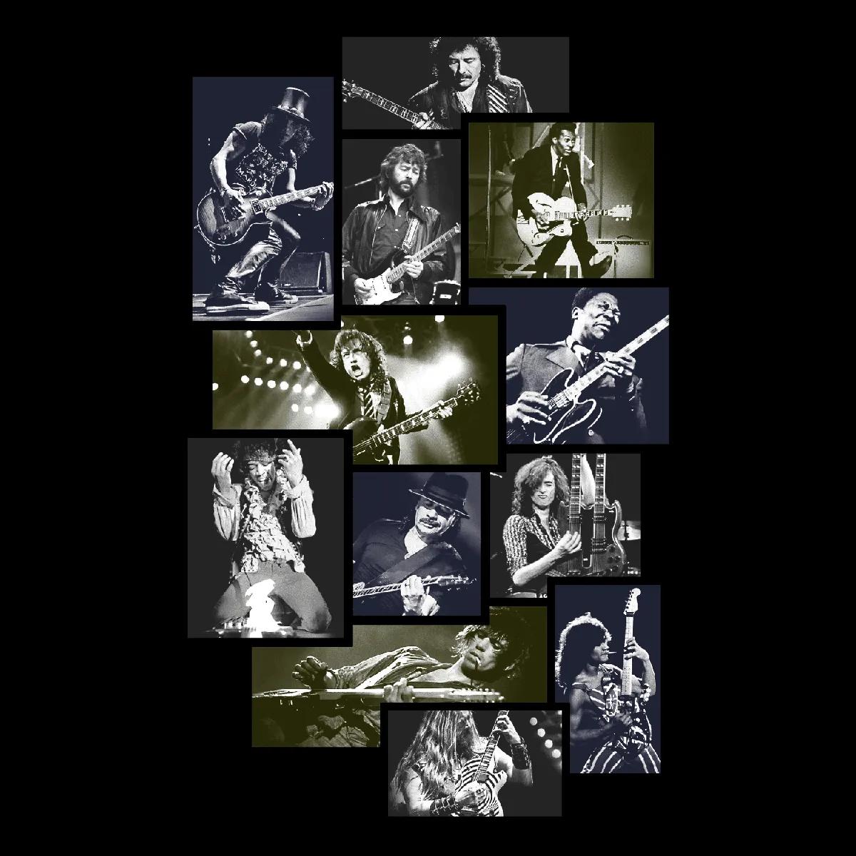 Quadro A4 - Guitarristas