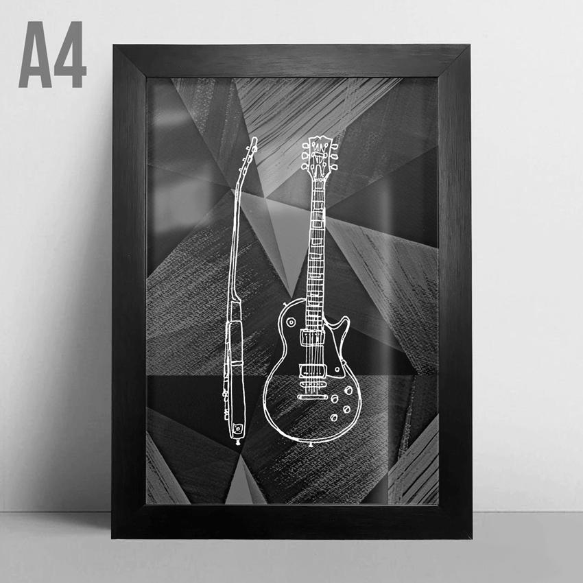 Quadro A4 - Handmade Guitar