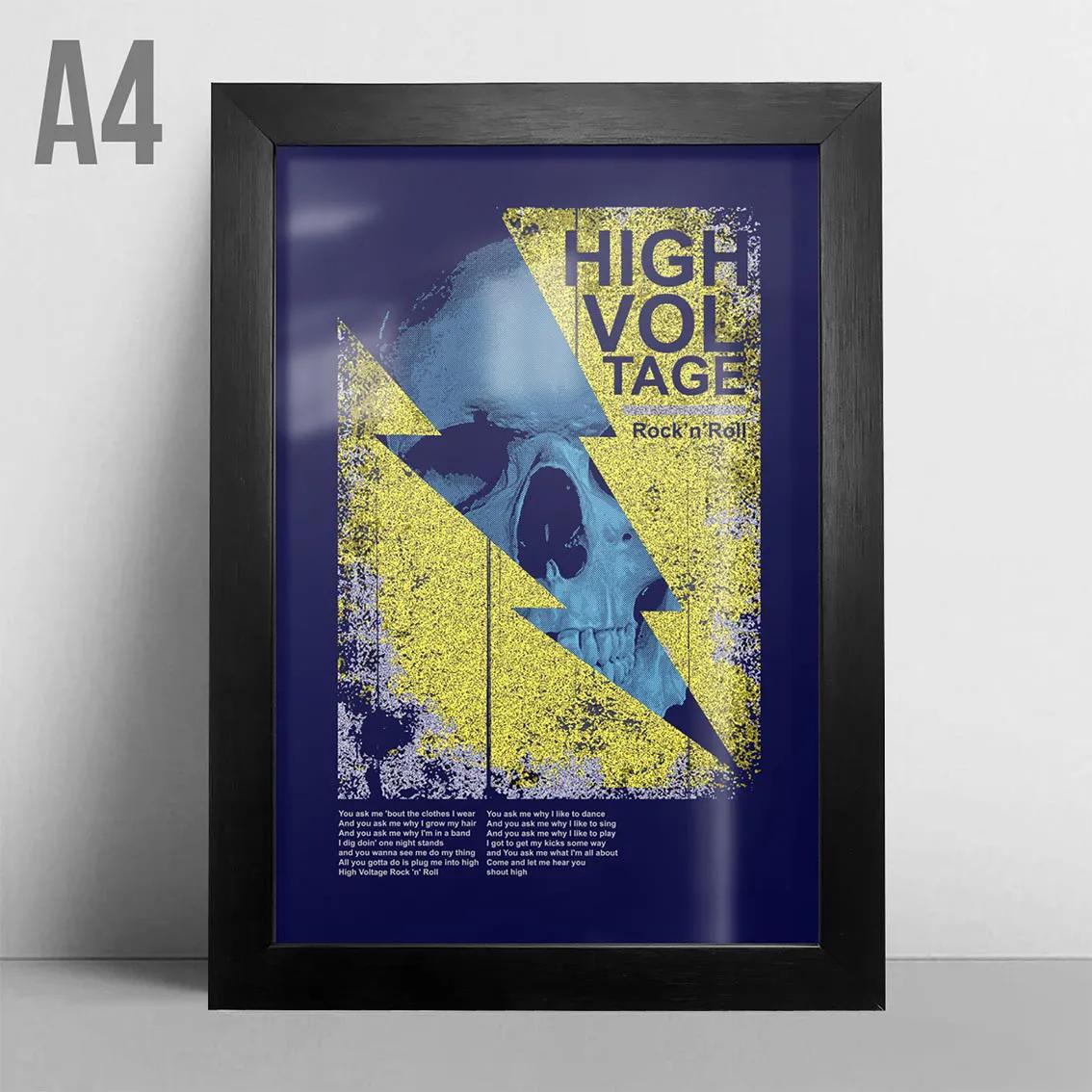 Quadro A4 - High Voltage