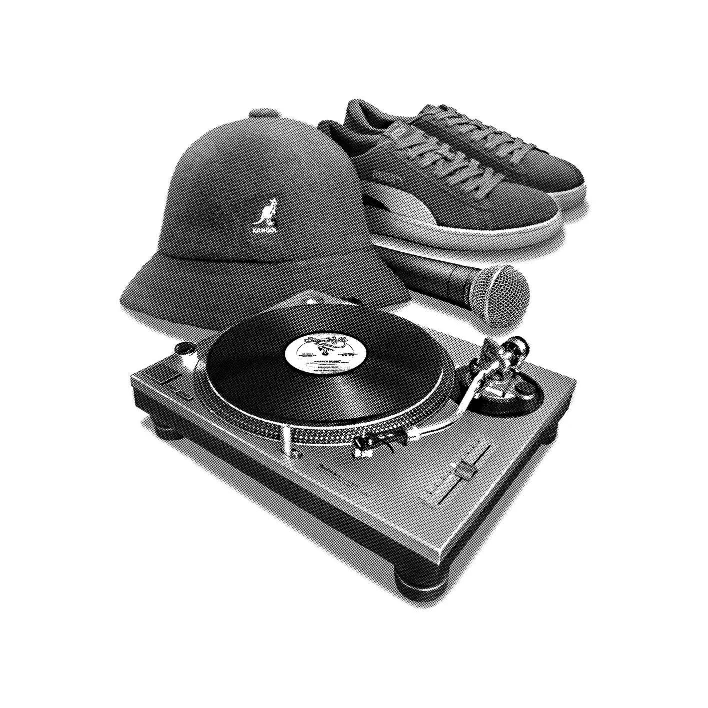 Quadro A4 - Hip Hop Elements