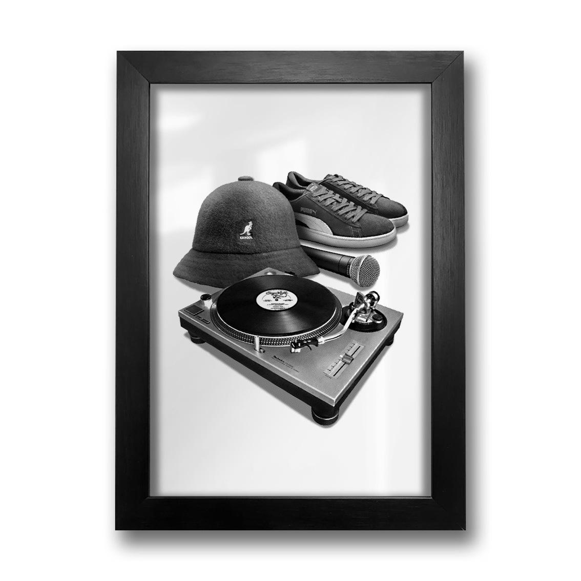 Quadro Hip Hop Elements