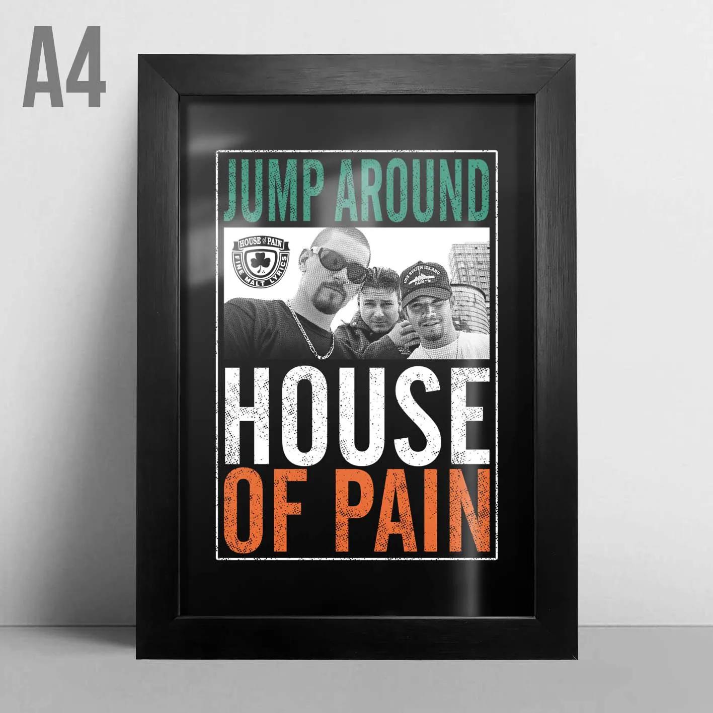 Quadro A4 - House Of Pain