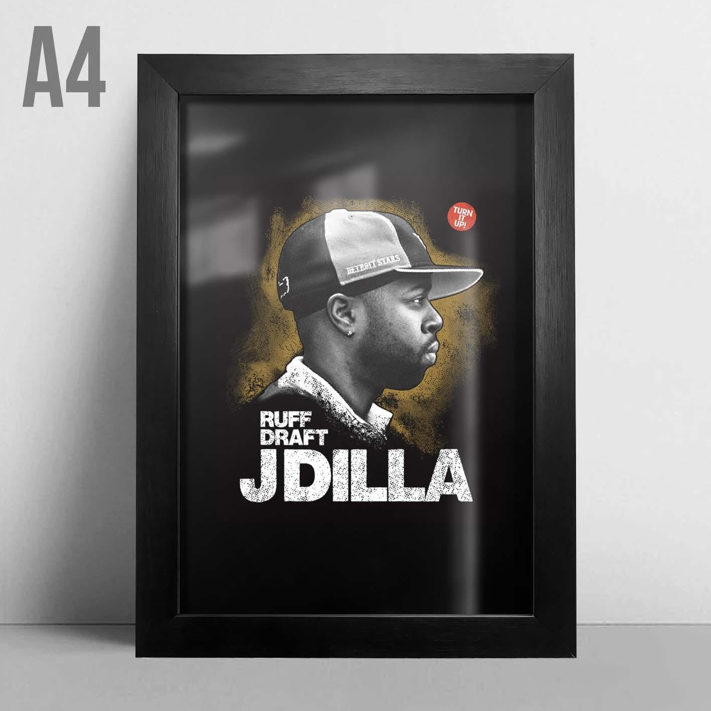 Quadro A4 - J Dilla