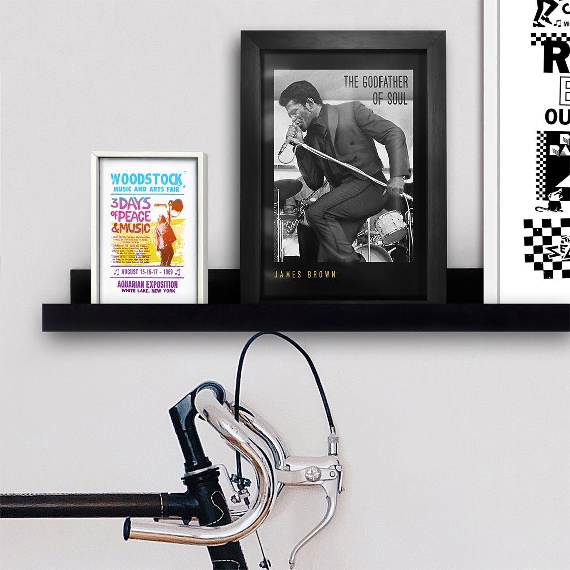 Quadro A4 - James Brown