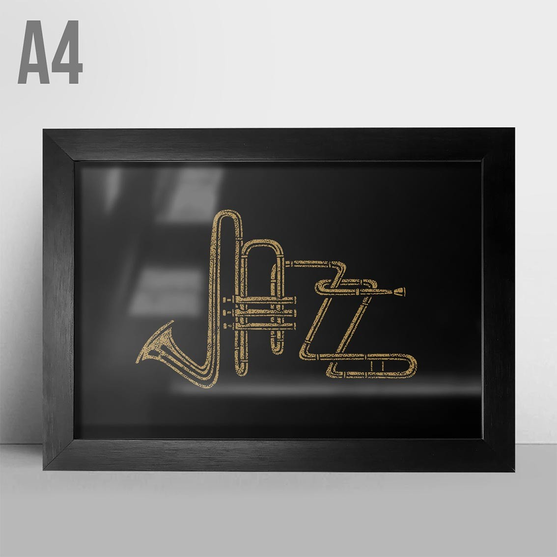 Quadro A4 - Jazz