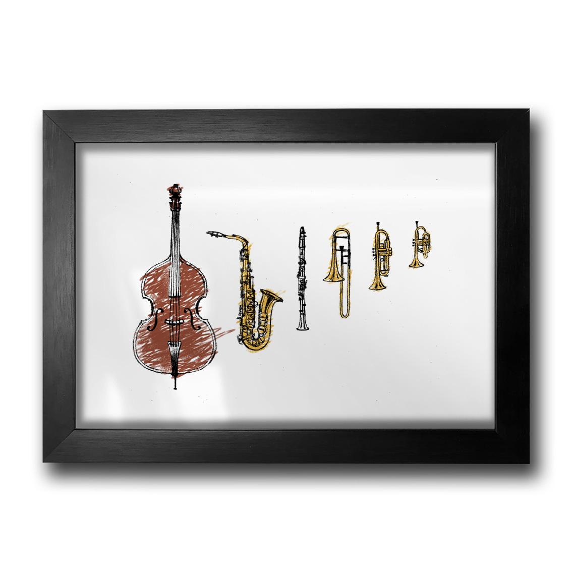 Quadro Jazz Instruments