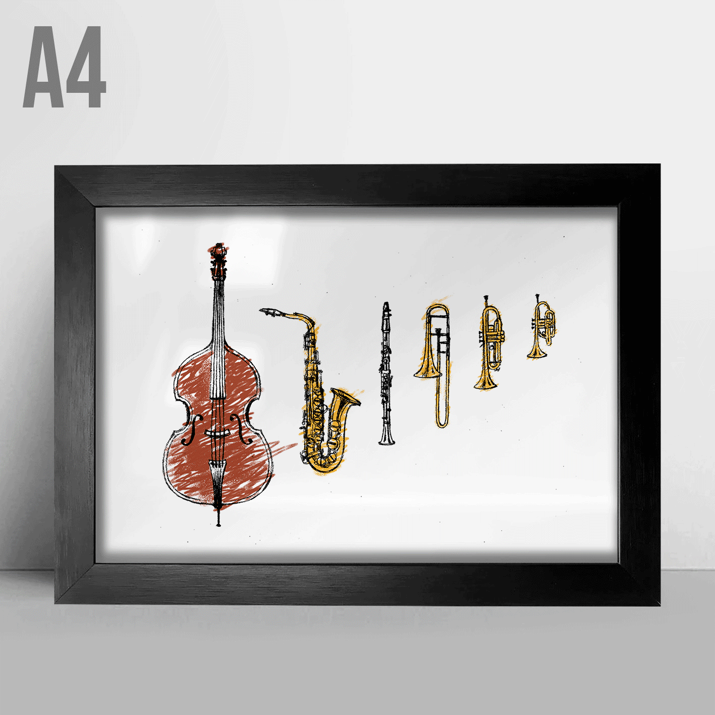 Quadro A4 - Jazz Instruments
